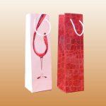 Брендированные и подарочные пакеты под бутылку